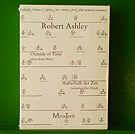 Robert Ashley - Outside of Time/ Ausshalb der Zeit